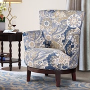 NathanielHome Zoey Swivel Arm Chair
