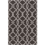 Artistic Weavers Marigold Serena Hand-Crafted Slate/Gray Area Rug; 8' x 11'