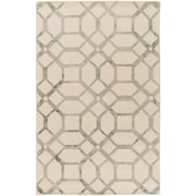 Artistic Weavers Organic Brittany Hand-Tufted Ivory/Gray Area Rug; 5' x 8'