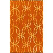 Artistic Weavers Organic Julia Hand-Tufted Orange/Gold Area Rug; 5' x 8'