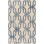 Artistic Weavers Organic Julia Hand-Tufted Slate Blue/Ivory Area Rug; 5' x 8'