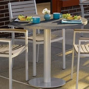 Oxford Garden Travira Bar Table; 36'' L x 36'' W