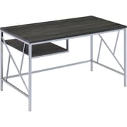 Hokku Designs Madelle Writing Desk; Chrome