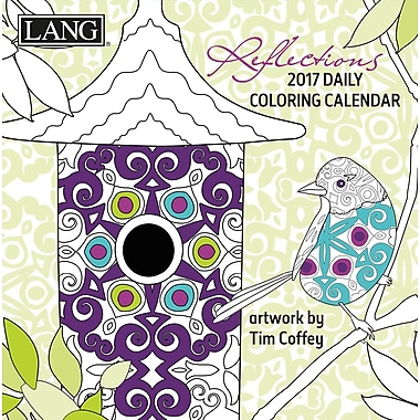 LANG (17991023011) 2017 Reflections Colouring 365 Day Boxed Calendars
