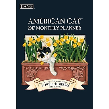 LANG (1799101204) 2017 American Cat Monthly Planner