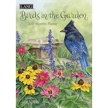 LANG (17991012115) 2017 Birds In The Garden Monthly Planner