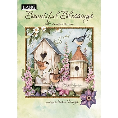 LANG (17991012096) 2017 Bountiful Blessings Monthly Planner