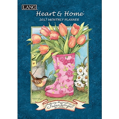 LANG (17991012098) 2017 Heart & Home Monthly Planner