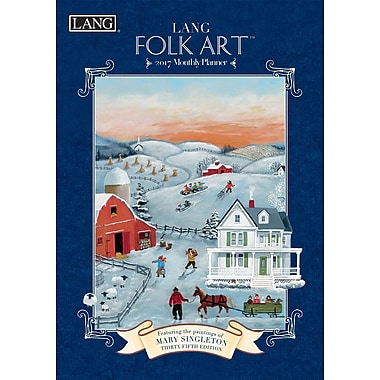 LANG (17991012099) 2017 Folk Art Monthly Planner