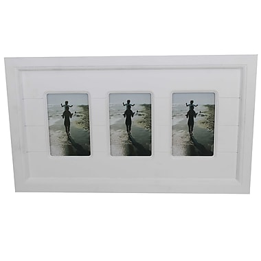Cathay Importers Collage Wood Photo Frame, 3 Photos 4
