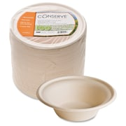 BAUMGARTENS Conserve Sugar Cane Bowl, 12 oz., White, 100/Pack