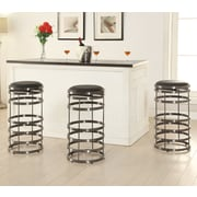 AC Pacific Orion Swivel Bar Stool With Cushion