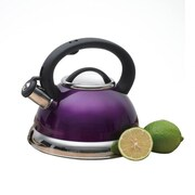 Creative Home Alexa 3-qt. Whistling Tea Kettle; Metallic Purple