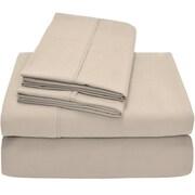Bare Home Premium Ultra Soft Twin XL Sheet Set; Sand