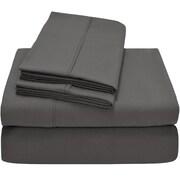 Bare Home Premium Ultra Soft Twin XL Sheet Set; Grey