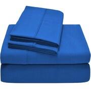 Bare Home Premium Ultra Soft Twin XL Sheet Set; Medium Blue