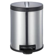 JoyWare 7.92 Gallon Step-On Metal Trash Can