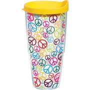 Tervis Tumbler Totally Kids Peace Signs Wrap Tumbler with Lid; 24 oz.