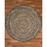 Natural Area Rugs Essence Cotton Natural Area Rug; Round 8'