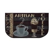 Structures Textured Loop Artisan Coffee Kitchen Area Rug