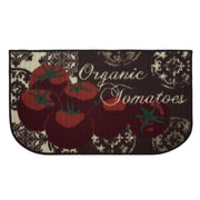 Structures Textured Loop Tomatoes Kitchen Area Rug