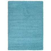 sweet home stores Cozy Turquoise Blue Area Rug; 7'10'' x 9'10''