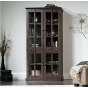 Sauder New Grange Tall Display Cabinet