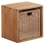 Besp-Oak Vancouver Cube with Jute Basket
