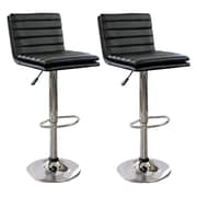 Buffalo Tools AmeriHome 24'' Swivel Bar Stool (Set of 2)