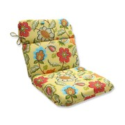Pillow Perfect Timmo Sunshine Outdoor Dining Chair Cushion
