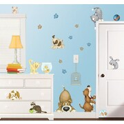 Borders Unlimited At the Pet Shop Super Jumbo Appliqu  Wall Decal