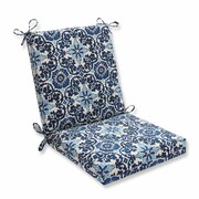 Pillow Perfect Woodblock Prism Outdoor Dining Chair Cushion