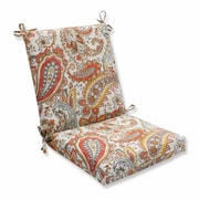 Pillow Perfect Hadia Sunset Outdoor Dining Chair Cushion