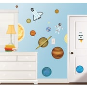 Borders Unlimited In Outer Space Super Jumbo Appliqu  Wall Decal