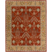 Artistic Weavers Middleton Kelly Hand-Crafted Rust/Gold Area Rug; 5' x 8'