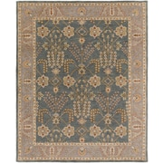 Artistic Weavers Middleton Kelly Hand-Crafted Slate/Beige Area Rug; 4' x 6'