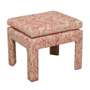 HomePop Coral Upholstered Decorative Bench