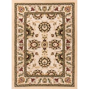 Well Woven Comfy Living Classic Ivory / Beige Living Room Area Rug; 5' x 7'2''