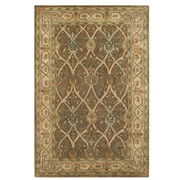 American Home Rug Co. Arts and Crafts Hand-Tufted Brown Area Rug; 5'6''X8'6''