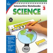 Carson-Dellosa Interactive Notebooks Science Grade 3 Resource Book (104907)