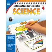 Carson-Dellosa Interactive Notebooks Science Grade 4 Resource Book (104908)