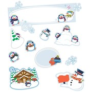 Carson-Dellosa Winter Mini Bulletin Board Set (110308)