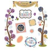 Carson-Dellosa You-Nique Tree-Mendous Students Mini Bulletin Board Set (110325)