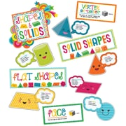 Carson-Dellosa School Pop Shapes and Solids Grades K-2 Bulletin Board Set (110327)