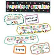 Carson-Dellosa School Pop Properties of Operations Grades 1-4 Mini Bulletin Board Set (110332)