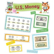 Carson-Dellosa Hipster U.S. Money Grades K-2 Mini Bulletin Board Set (110340)