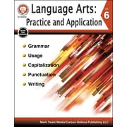 Carson-Dellosa Language Arts: Practice and Application Grade 6 Resource Book (404243)
