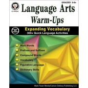 Mark Twain Language Arts Warm-Ups Grades 5-8+ Resource Book (404245)