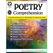 "Mark Twain ""Poetry Comprehension"" Grades 6-8 Resource Book (404249)"