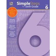 Thinking Kids Simple Steps for Sixth Grade Workbook (704919)